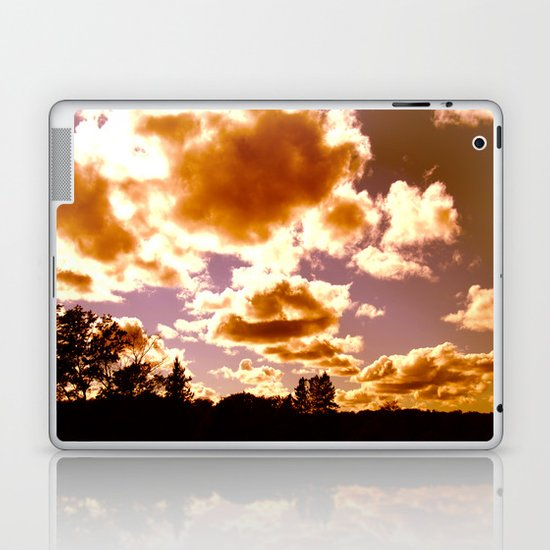 fire puffs Laptop & iPad Skin
