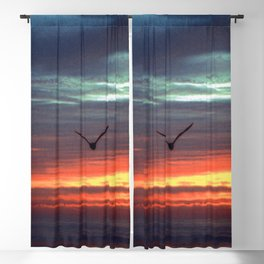Black Gull by nite Blackout Curtain
