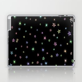 Colored Sparkling Stars Laptop & iPad Skin