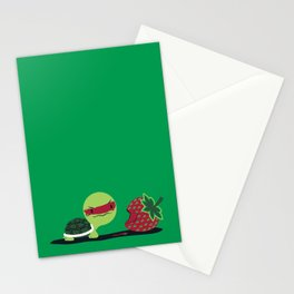 Strawberry Turtle Stationery Cards