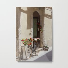 Bicycle in Syracuse Metal Print