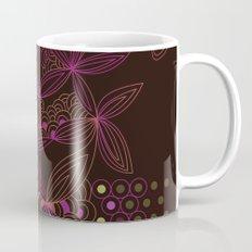 Brown, orange and purple tangle Mug