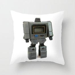 Wrist Watch Robot Throw Pillow