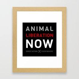 Liberation Now Framed Art Print