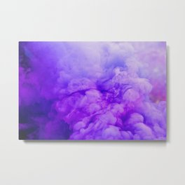 Ethereal Purple Metal Print