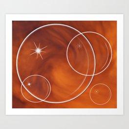 Bubble Madness Art Print