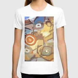 Earth, water, air - shapes T-shirt