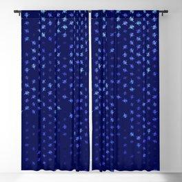 leo zodiac sign pattern std Blackout Curtain