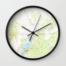 CA June Lake 291750 1992 24000 geo Wall Clock