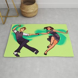 Jitterbug (Swing Dance) Rug