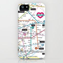 Love Map iPhone Case