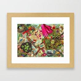 A Vintage Garden Framed Art Print