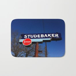 STUDEBAKER LOT SIGN Bath Mat