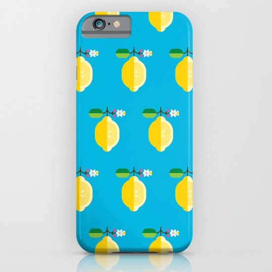 Fruit: Lemon iPhone & iPod Case