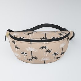 Palm Trees - Neutral Black & White Fanny Pack