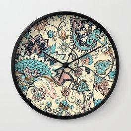 Lovely paisley Wall Clock