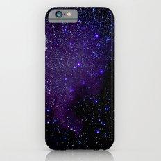 Indigo Purple Stars Slim Case iPhone 6s