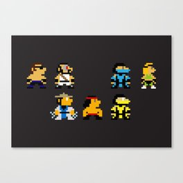 Choose Your Fighter Canvas Print