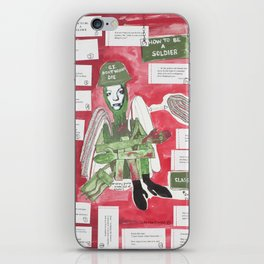 How To Be A Soldier iPhone Skin