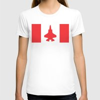 contemporary T-shirts featuring Contemporary Canada by Meg Harder