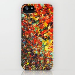 END OF THE RAINBOW - Bold Multicolor Abstract Colorful Nature Inspired Sunrise Sunset Ocean Theme iPhone Case