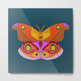 Empress Butterfly Metal Print