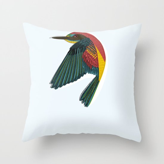 Its Heaven Throw Pillow