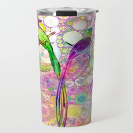 BATIK BIRDS Travel Mug