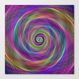 Spiral magic Canvas Print