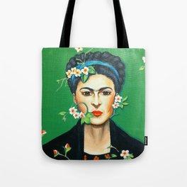 Alheli (Frida Kahlo) Tote Bag