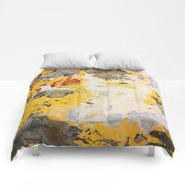 Broken Paint Comforters