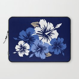 Epic Hibiscus Hawaiian Floral Aloha Shirt Print Laptop Sleeve