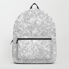 Light Galvanized Metal Backpack