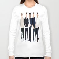 one direction Long Sleeve T-shirts featuring One Direction by kikabarros