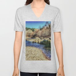 Hot Springs Unisex V-Neck