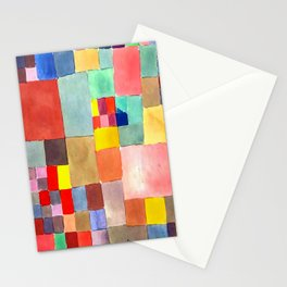 Paul Klee Flora on Sand Stationery Cards