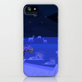 Just savannah iPhone Case