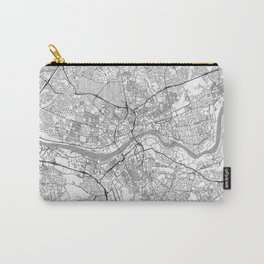 Newcastle upon Tyne Map Line Carry-All Pouch
