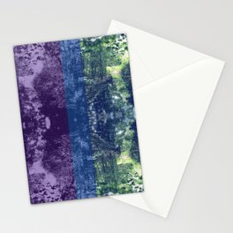 Born on the Bayou Colorblock Stationery Cards