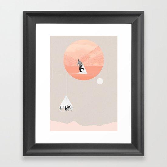 FROM EARTH Framed Art Print