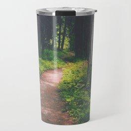 Bowman Lake Path Travel Mug