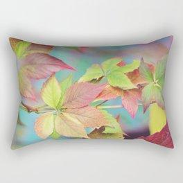 Colorful fall Rectangular Pillow