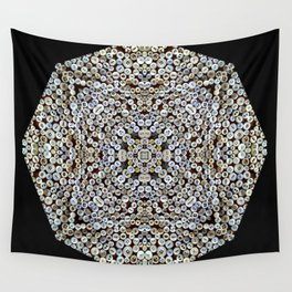 Buttons Up Squared Wall Tapestry