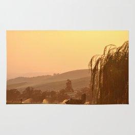 SUNSET OVER EASTERN OREGON Rug