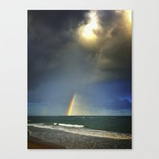 welcome rain Canvas Print