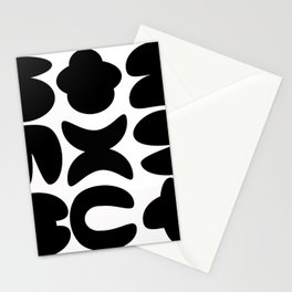 Shapes 01 Stationery Cards