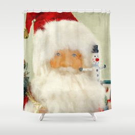 St Nick Shower Curtain