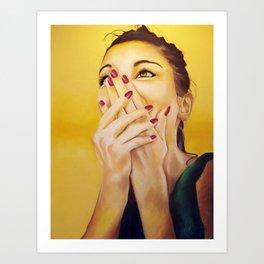 Sofia  Art Print