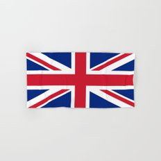 Union Jack, Authentic color and scale 1:2 Hand & Bath Towel