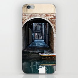 Winter Canal iPhone Skin